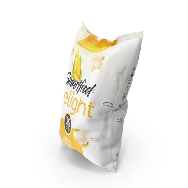 Smartfood Delight White Cheddar Popcorn PNG & PSD Images