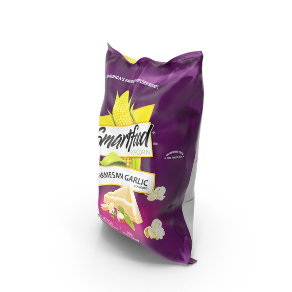 Smartfood Parmesan Garlic Popcorn PNG & PSD Images