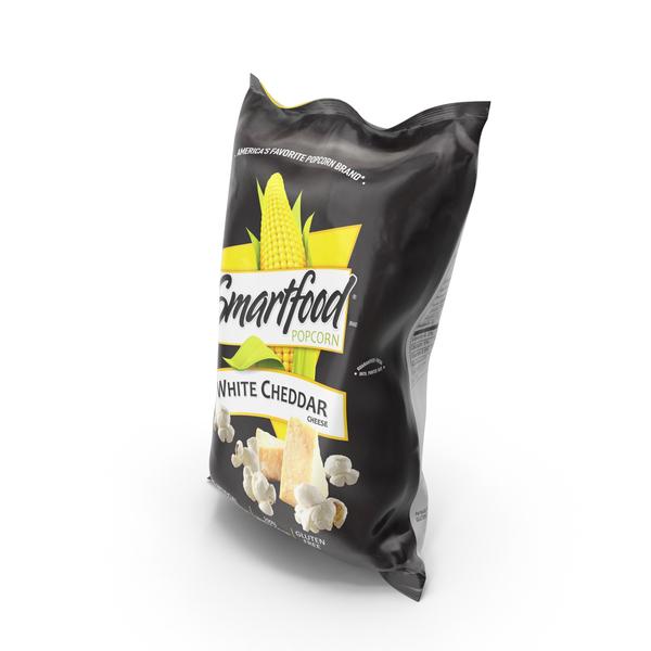 Smartfood White Cheddar Popcorn PNG & PSD Images