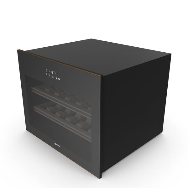 Smeg CVI618RWN Wine Cooler PNG & PSD Images