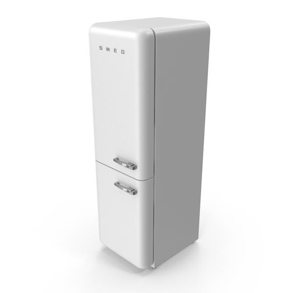 Smeg FAB32LBN1 Refrigerator PNG & PSD Images