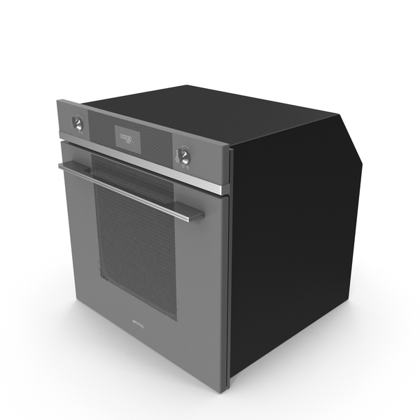 Smeg SF6102TVS Oven PNG & PSD Images