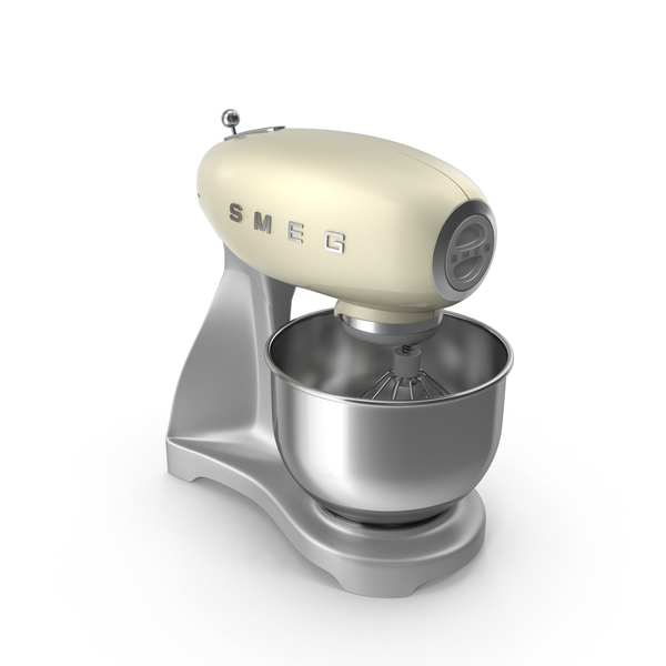 Smeg Stand Mixer Beige PNG & PSD Images