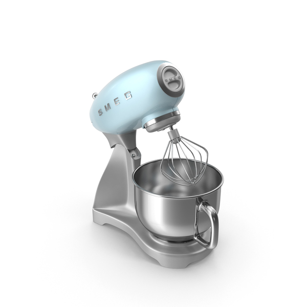 Smeg Stand Mixer Blue PNG & PSD Images