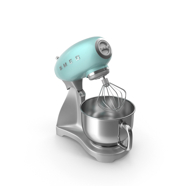 Smeg Stand Mixer Green PNG & PSD Images