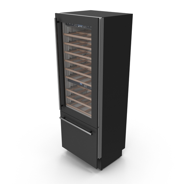 Smeg WI66RS Wine Cooler PNG & PSD Images