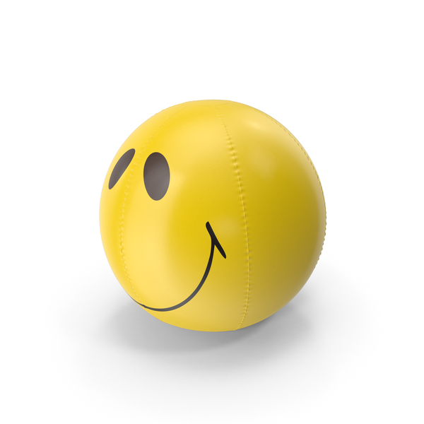 Smile Beach Ball Inflatable PNG & PSD Images