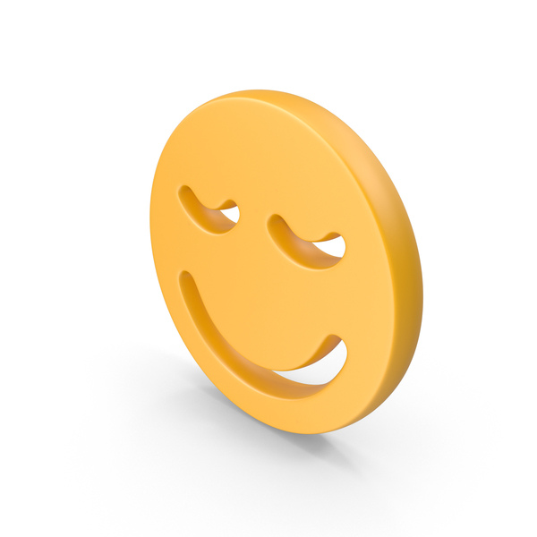 Smiley Face: Smile With Closed Eyes PNG & PSD Images