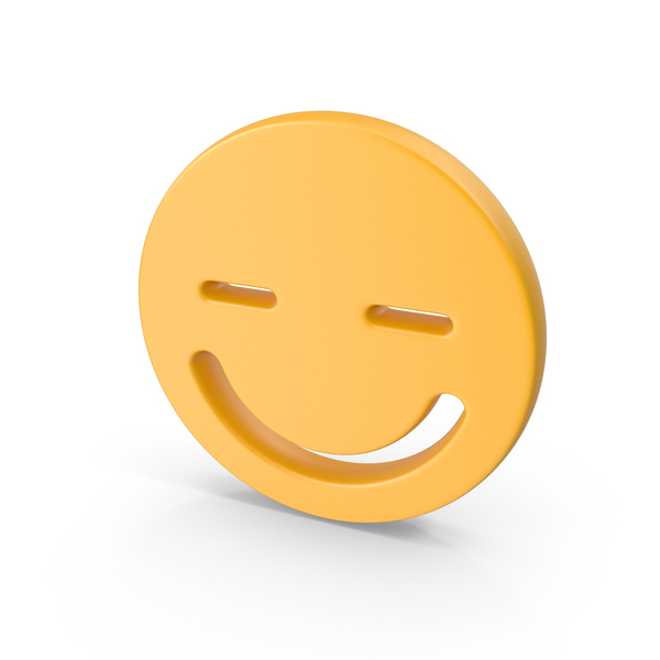 Smiley Face Closed Eyes PNG & PSD Images