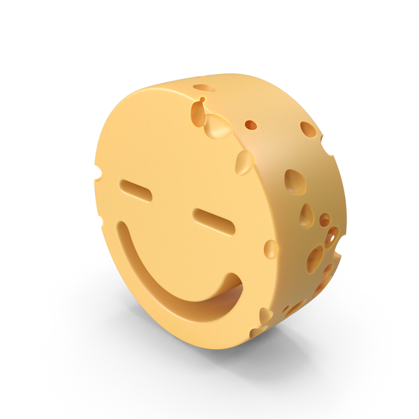 Smiley Face Closed Eyes Cheese PNG & PSD Images