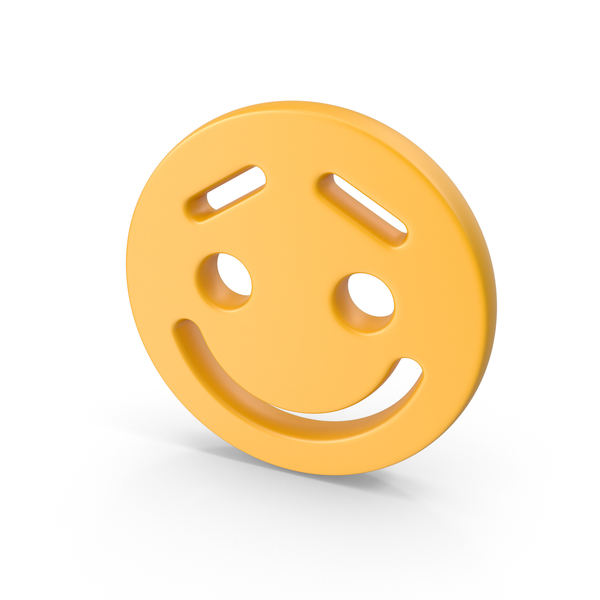 Smiley Face Lifted Brow PNG & PSD Images