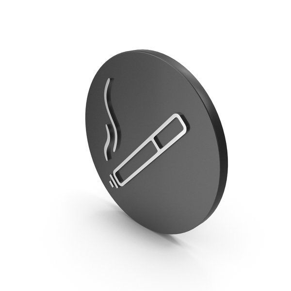 Logo: smoke icon chrome PNG & PSD Images