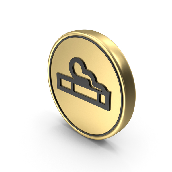 Logo: Smoking Coin Sign Icon Symbol PNG & PSD Images