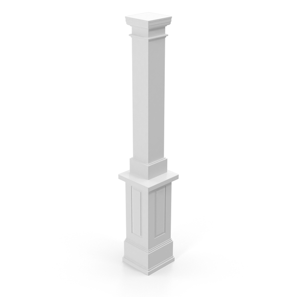Smooth Modern Column and Capital PNG & PSD Images