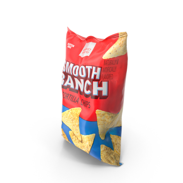 Nachos: Smooth Ranch Tortilla Chips PNG & PSD Images