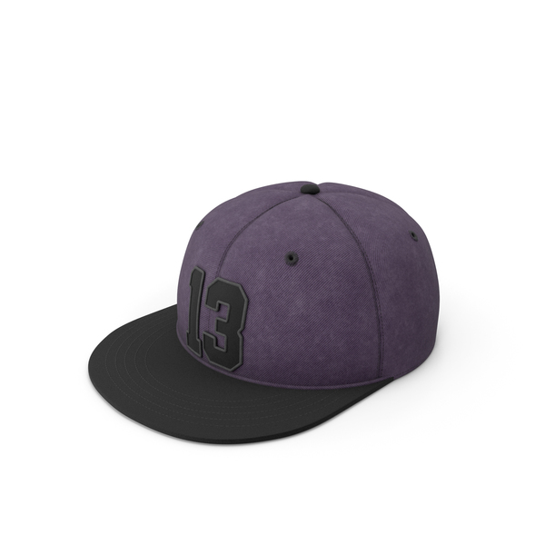 Snapback Purple PNG & PSD Images