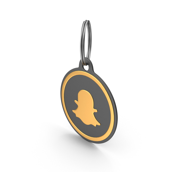 Keychain: Snapchat Logo Icon PNG & PSD Images