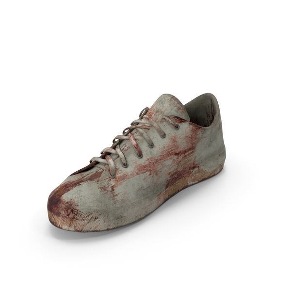 Boot: Sneaker Bloodied PNG & PSD Images