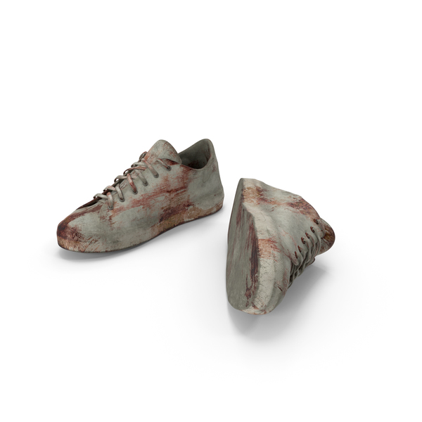 Sneakers Bloodied PNG & PSD Images