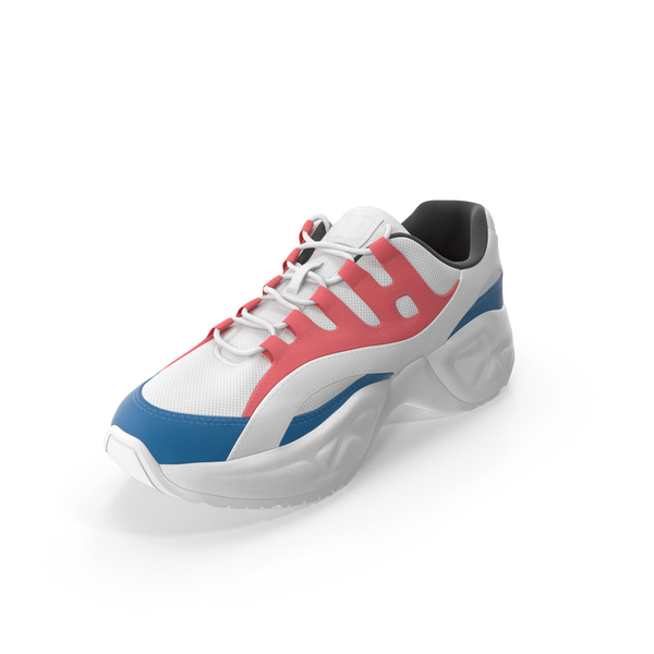Sneakers Red and Blue PNG & PSD Images