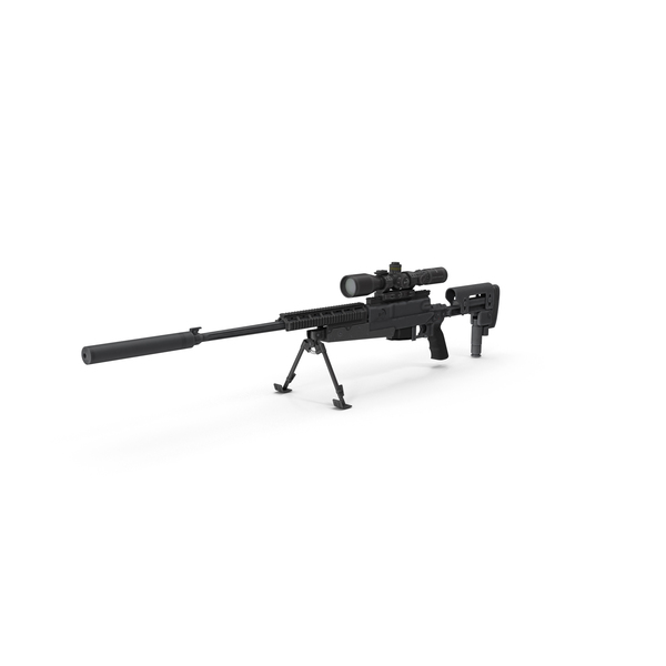 Sniper Rifle APR308 PNG & PSD Images