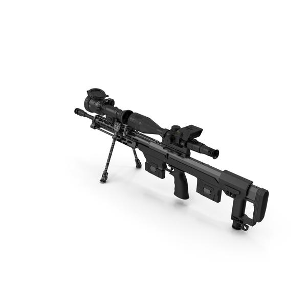 Sniper Rifle DSR-50 PNG & PSD Images