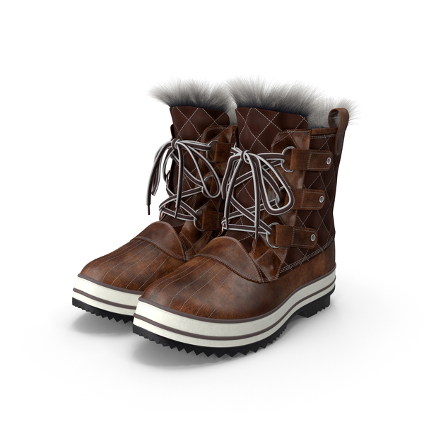 Snow Boots PNG & PSD Images