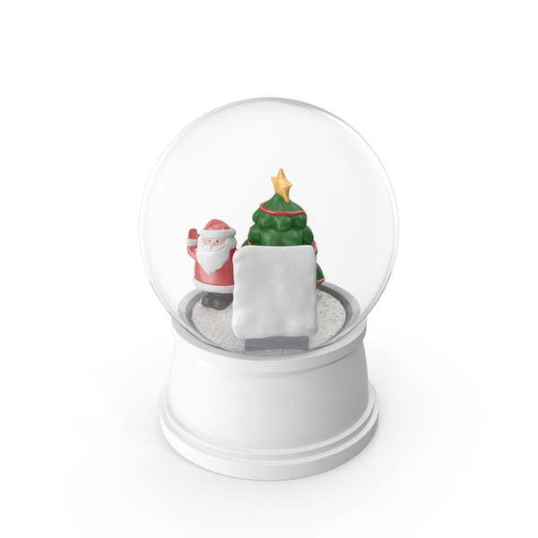 Snow Globe Christmas Decoration PNG & PSD Images
