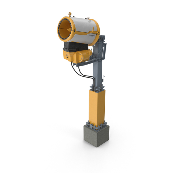 Snow gun Techno Alpine TF10 PNG & PSD Images