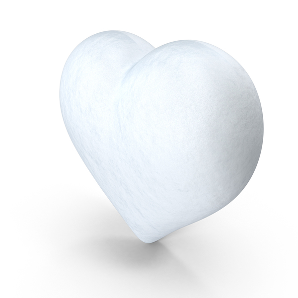 Snow Heart PNG & PSD Images