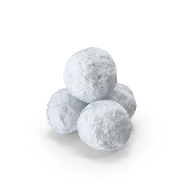 Snowballs PNG & PSD Images
