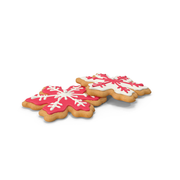 Snowflake Cookies PNG & PSD Images