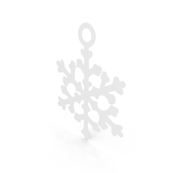Ornament: Snowflake Decoration PNG & PSD Images