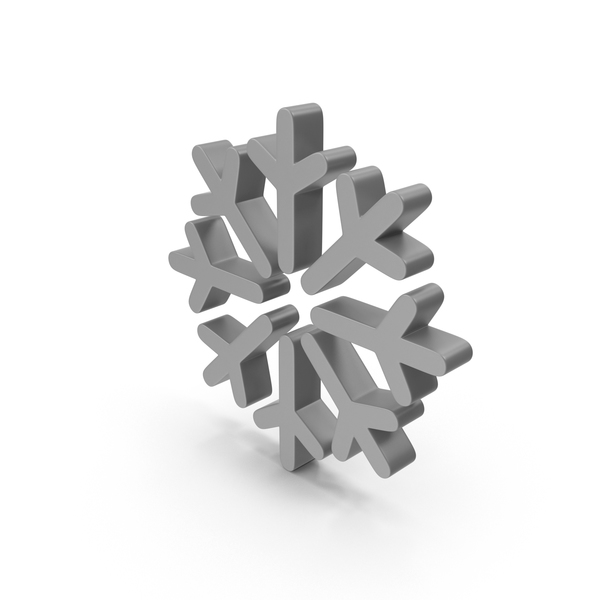 Meteorology Symbols: Snowflake Weather Symbol PNG & PSD Images
