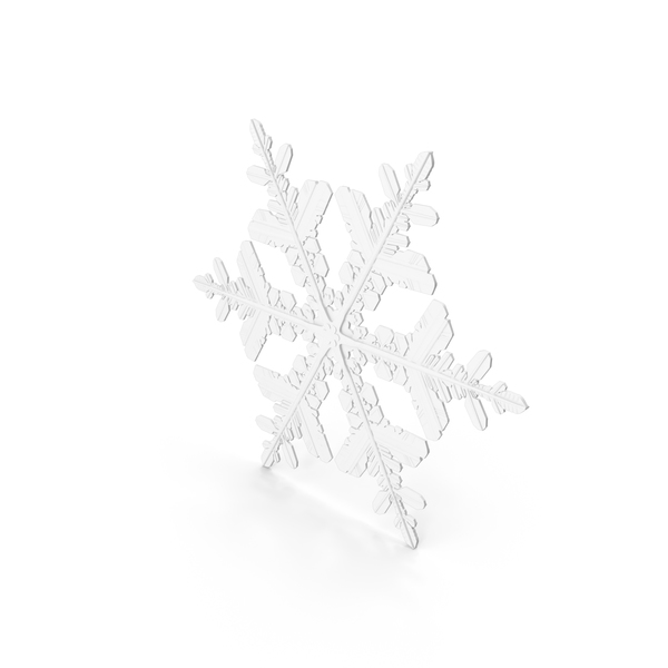 Snowflake White PNG & PSD Images
