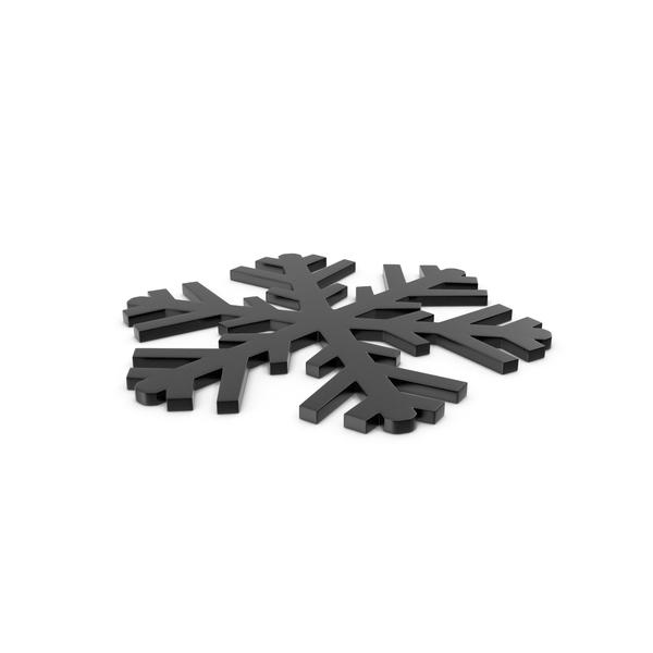 Snowflake: Snowflakes Black Symbol PNG & PSD Images