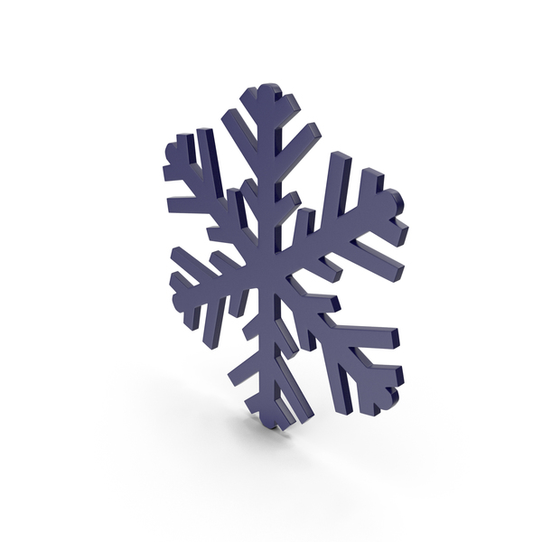 Snowflake: Snowflakes Dark Blue Symbol PNG & PSD Images