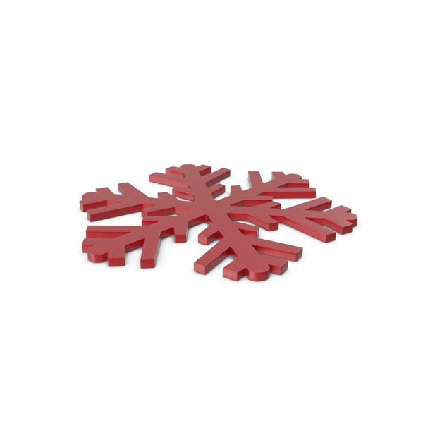 Snowflake: Snowflakes Red Symbol PNG & PSD Images