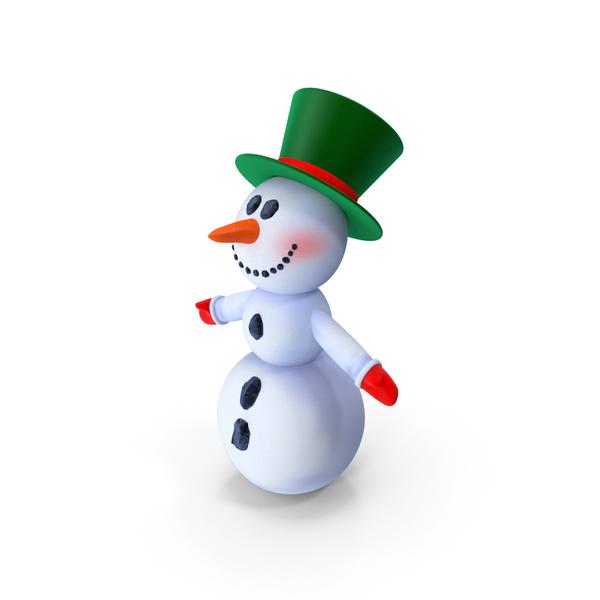 Snowman T-Pose PNG & PSD Images