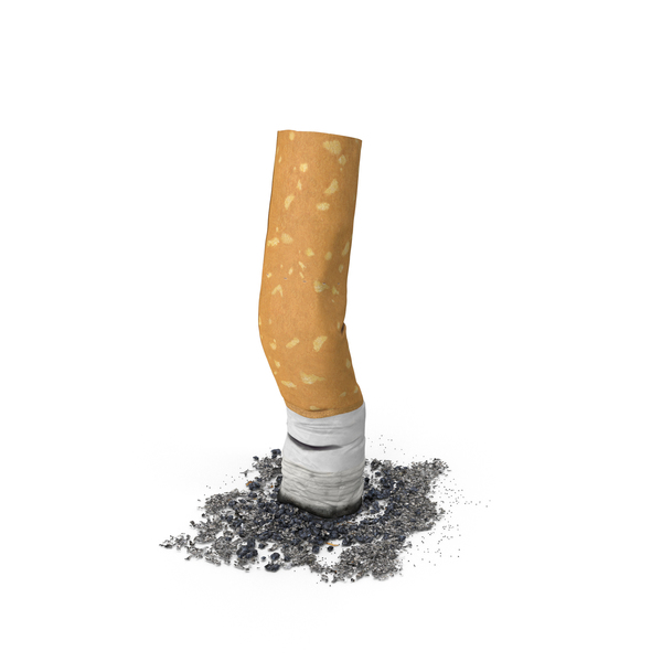 Cigarettes: Snuffed Cigarette PNG & PSD Images