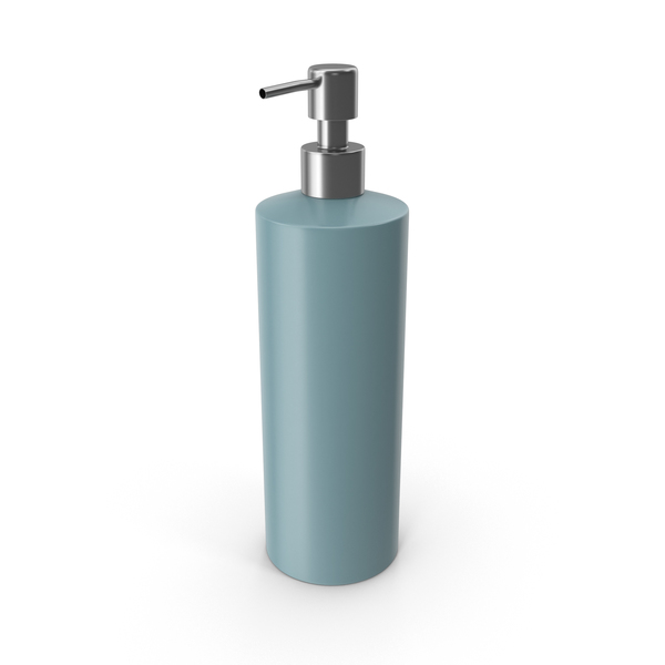 Liquid: Soap Dispenser Blue PNG & PSD Images