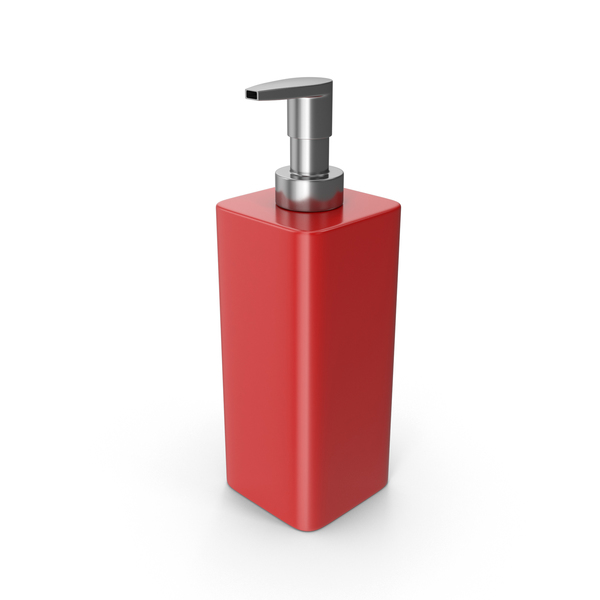 Liquid: Soap Dispenser Red PNG & PSD Images
