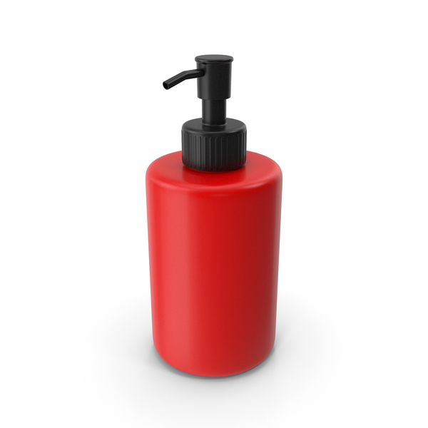 Soap Dispenser Red PNG & PSD Images
