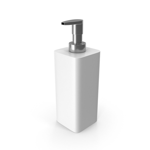 Soap Dispenser White PNG & PSD Images