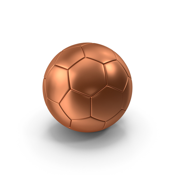 Soccer Ball Bronze PNG & PSD Images