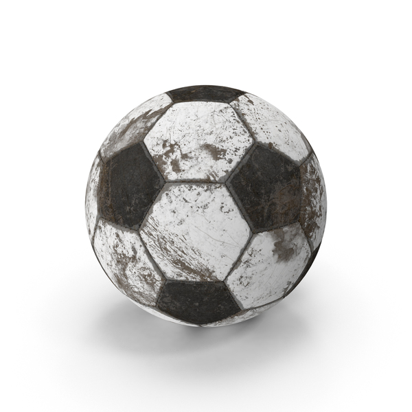 Soccer Ball Dirty Object