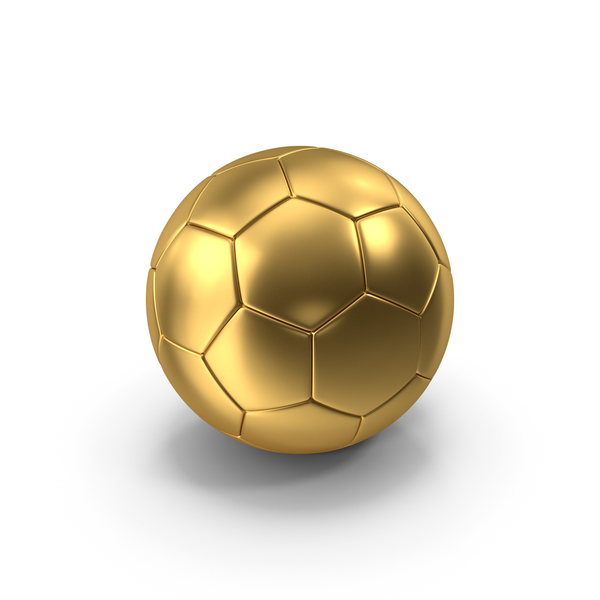 Soccer Ball Gold PNG & PSD Images