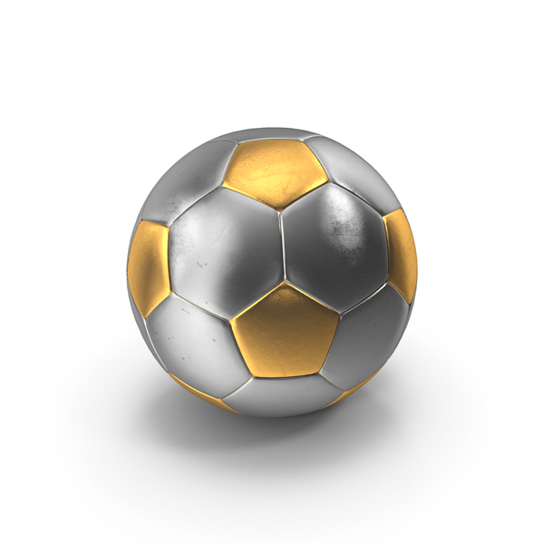 Soccer Ball Gold Silver PNG & PSD Images