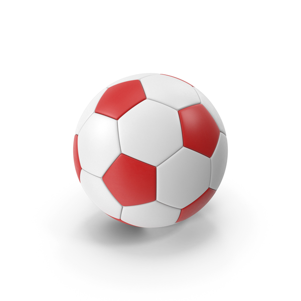 Soccer Ball Red PNG & PSD Images