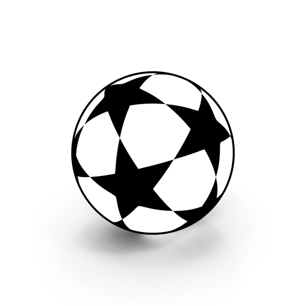 Soccer Ball Scheme Cartoon PNG & PSD Images